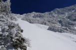 Mont de Jade sous la neige