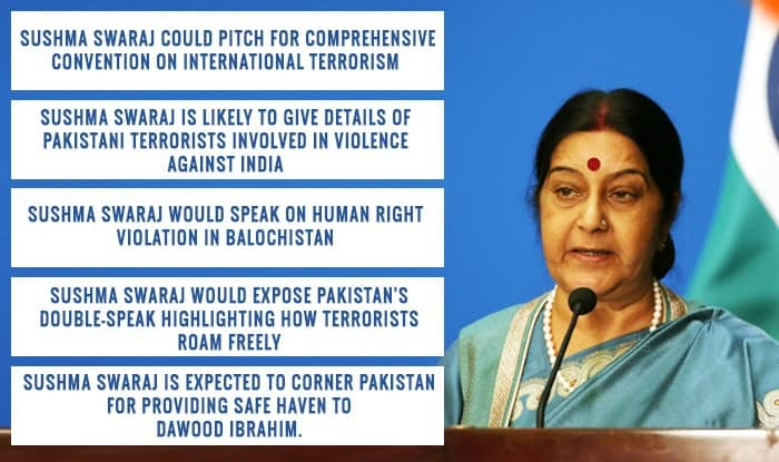 Sushma Swaraj at United Nation