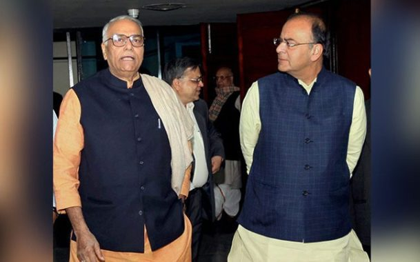 RTIwala on Sinha Vs Jaitley