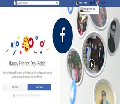 RTIwala Trending Facebook Friends Day