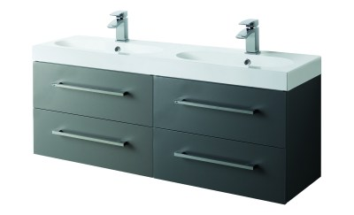 Mirae 1200mm Wall Hung Cabinet Only