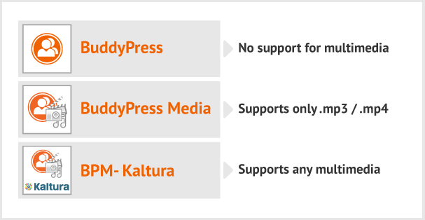 BuddyPress Media Kaltura