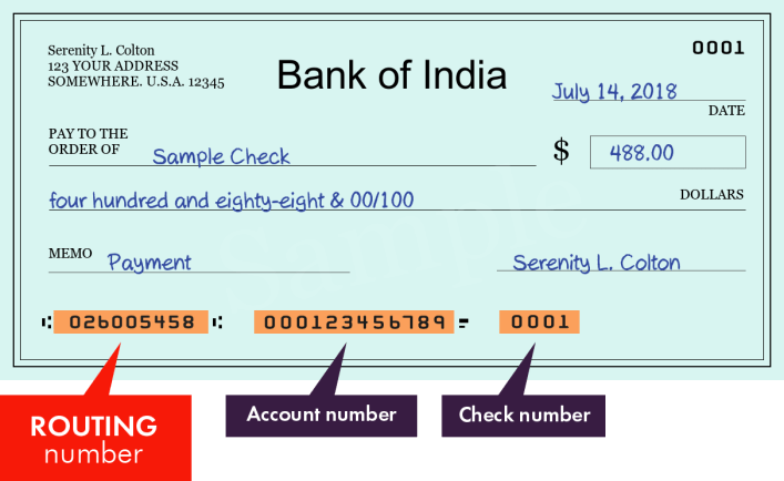 bank of india - search routing numbers, addresses and phones of branches