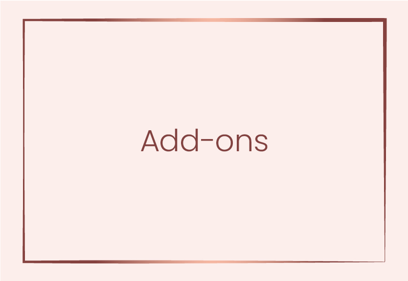 Add-ons​
