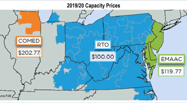 pjm capacity prices