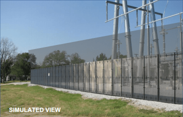 Dominion substation security - simulated view (Source: Dominion Resources)