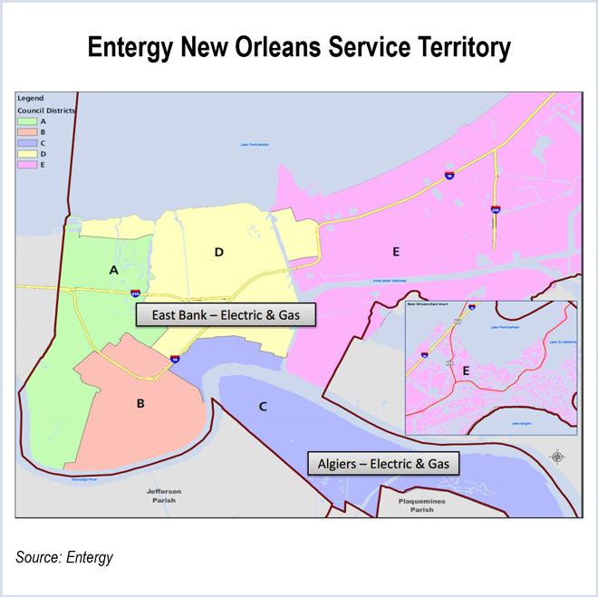 Entergy Granted Waiver in New Orleans 15th Ward Transfer