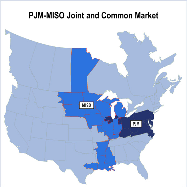 PJM MISO pseudo-tie JOA joint operating agreement