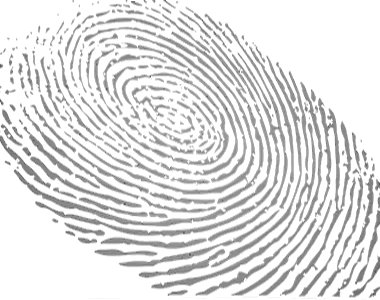 [Picture of a fingerprint]