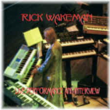 [Picture of Rick Wakeman playing lots of synths]