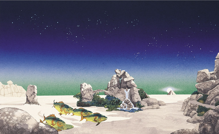 [Picture of Yes Album cover by Roger Dean 1974]