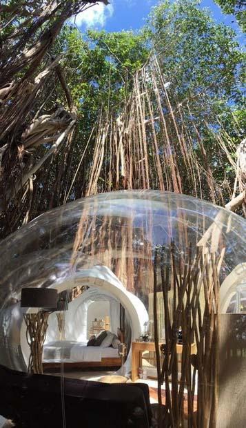 Уникальный дом-пузырь на Маврикии!