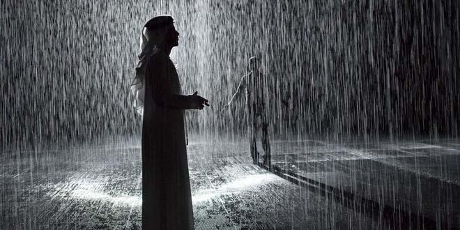 В Шардже появилась Комната дождя