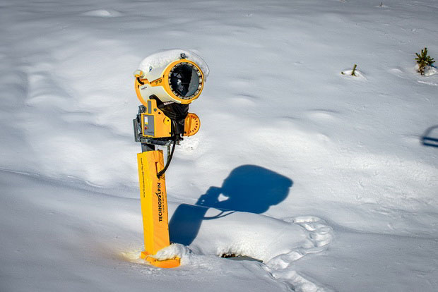 На «Архызе» началась подготовка трасс к горнолыжному сезону