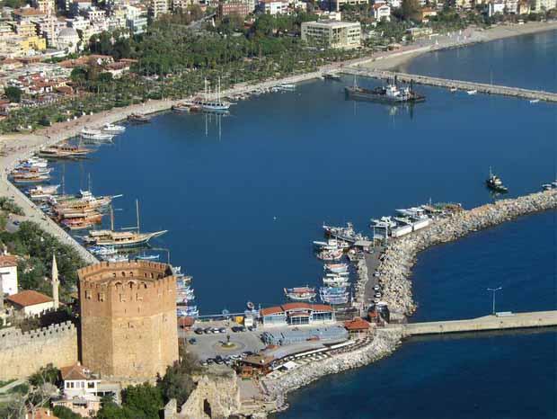 Добро пожаловать в Турцию! Добро пожаловать в Аланью!