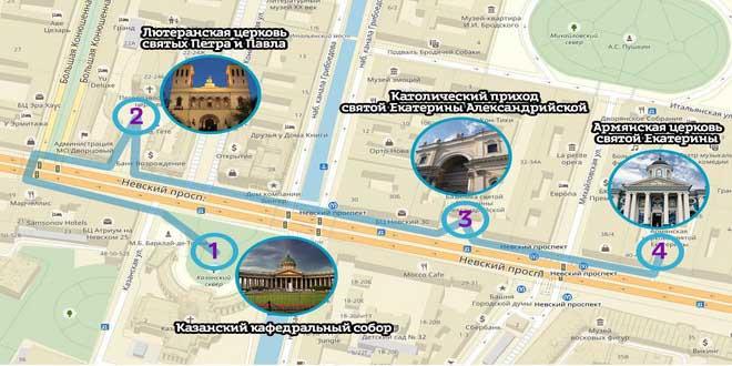 О храмах Невского расскажет экскурсия