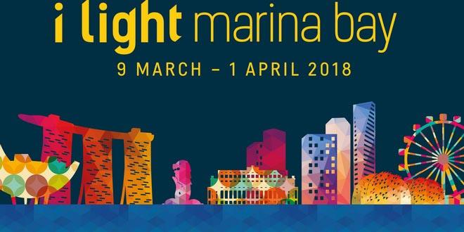 Фестиваль света i Light Marina Bay возвращается в Сингапур