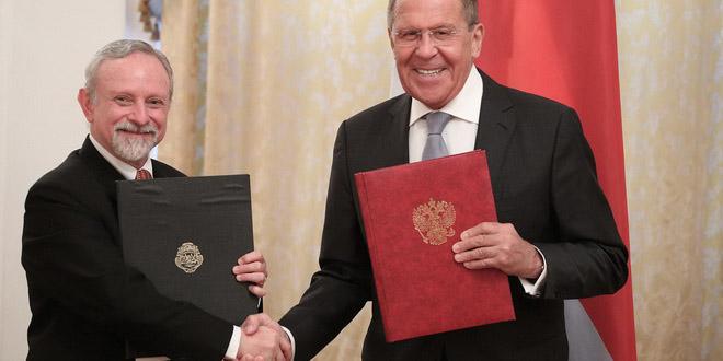 Россия и Коста-Рика подписали соглашение об отмене виз