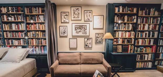 Париж: 5 вдохновляющих литературных отелей