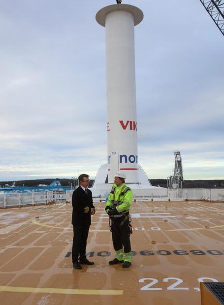 Viking Line превратил своё круизное судно в парусник