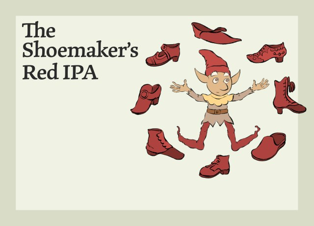 This image shows the Shoemaker's India Pale Ale.