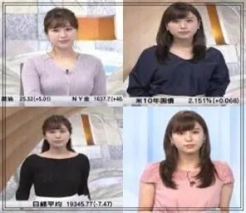 角谷暁子,アナウンサー,テレビ東京,可愛い,2017年