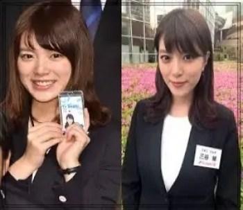 三谷紬,アナウンサー,テレビ朝日,可愛い,入社当時