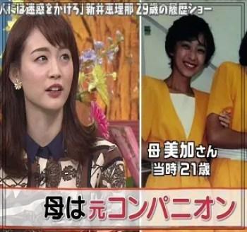 新井恵理那,アナウンサー,セント・フォース,かわいい,母親,綺麗,職業