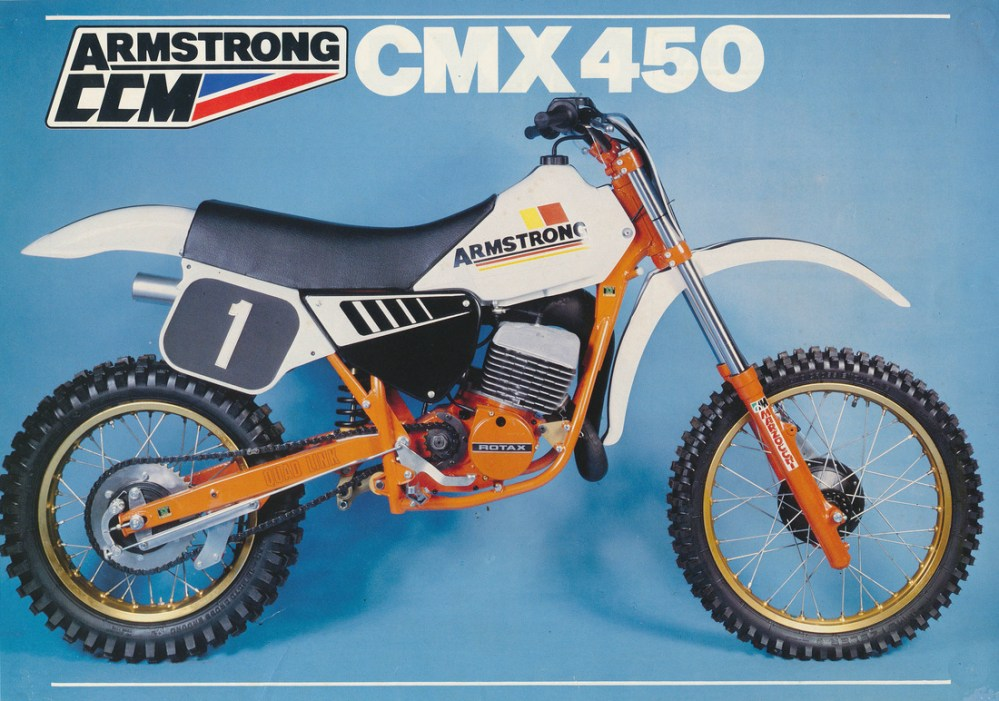 medium resolution of 1983 armstrong cmx 450