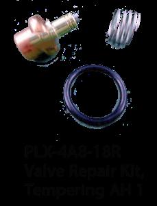 PLX-4A8-18R Valve Repair Kit, Tempering AH 1