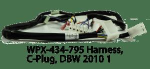 WPX-434-795 Harness, C-Plug, DBW 2010 1