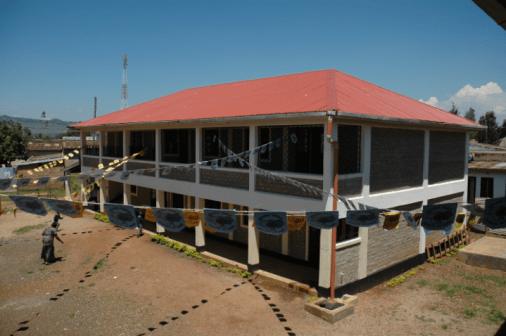 Das fertige Gebäude 2013