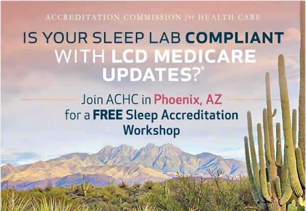 free sleep accreditation workshop