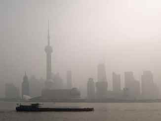 air pollution over Shanghai asthma
