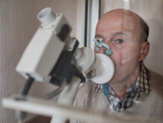 man pulmonary function testing