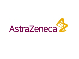 astra zeneca logo on background