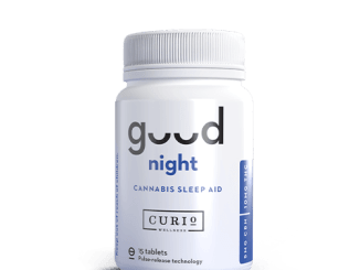 Curio good night cannabis sleep aid