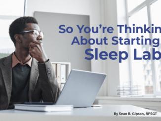 starting a sleep lab