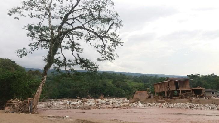 Panorama desolador en Mocoa tras la avalancha que azotó a esta ciudad. Foto: Juanita Restrepo