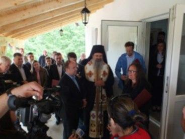 Eparhija raško-prizrenska je u selu Izvor otvorila mlekaru