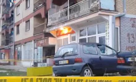 8 vozila oštećeno u eksploziji u Kos. Mitrovici