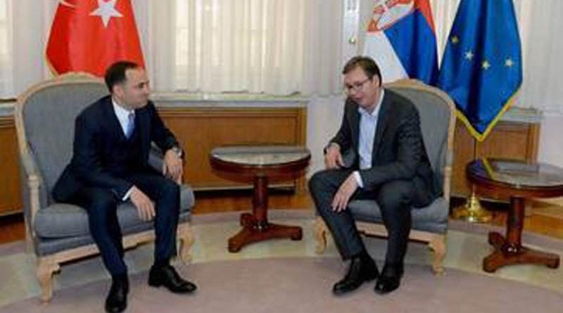 Vučić  pozvao Erdogana da poseti Srbiju