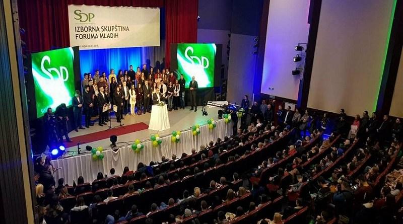 SDP najbrojnija, mladi snaga stranke