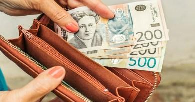Prihodi domaćinstava za oko 1.200 dinara manji od rashoda