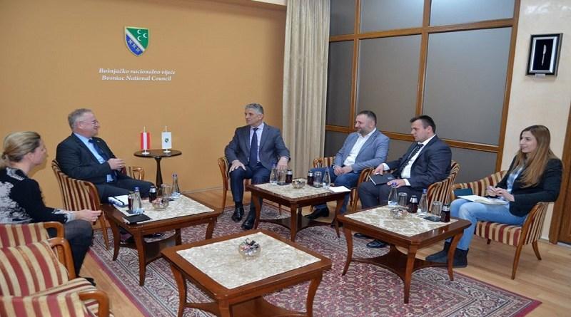 Predstavnik Ambasade Republike Austrije pojsetio BNV