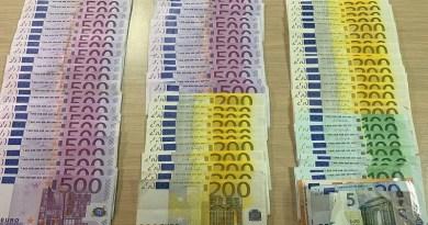 Od 28. maja novi dizajn novčanica od 100 i 200 evra