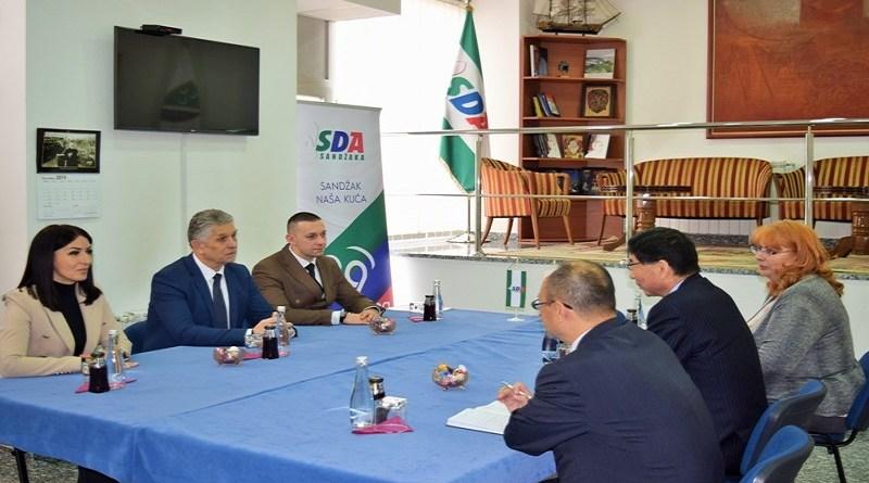 Ambasador Japana posetio SDA Sandžaka