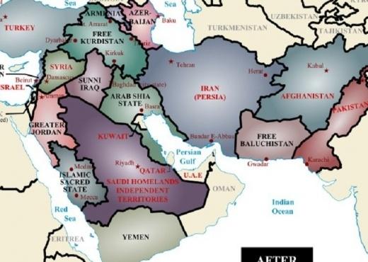 Copëtohen Turqia, Arabia dhe Iraku. Kjo është harta që po trondit botën