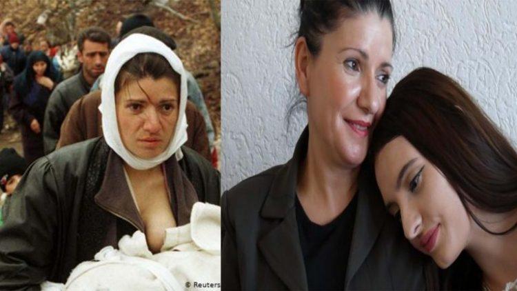 Nëna me foshnjen në gji 20 vite më pas