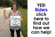 Riders click here to find out how we can help!